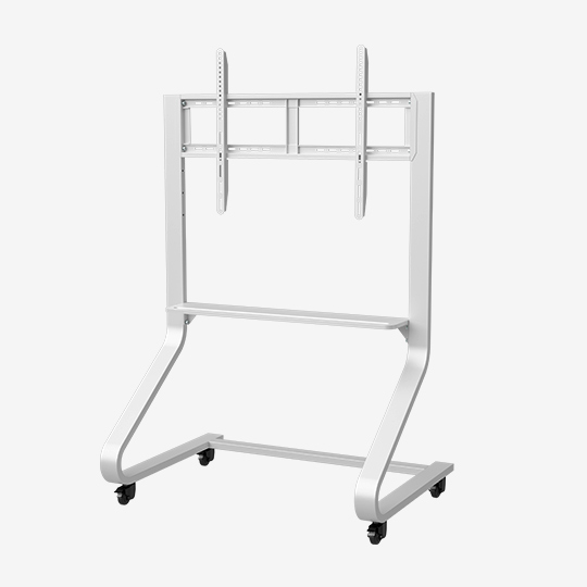 WH3303 90 Inch Interactive Display Mobile Cart Simple