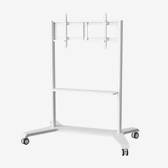 WH3780 32 Inch Interactive Display Mobile Cart Simple