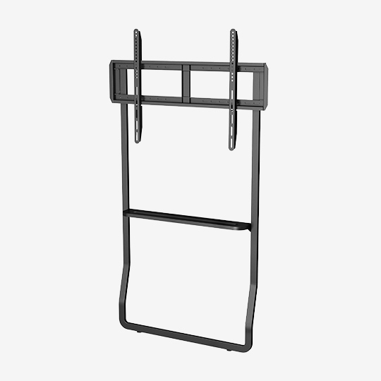 WH4321 55-75 Inch Customizable Metal TV Cart