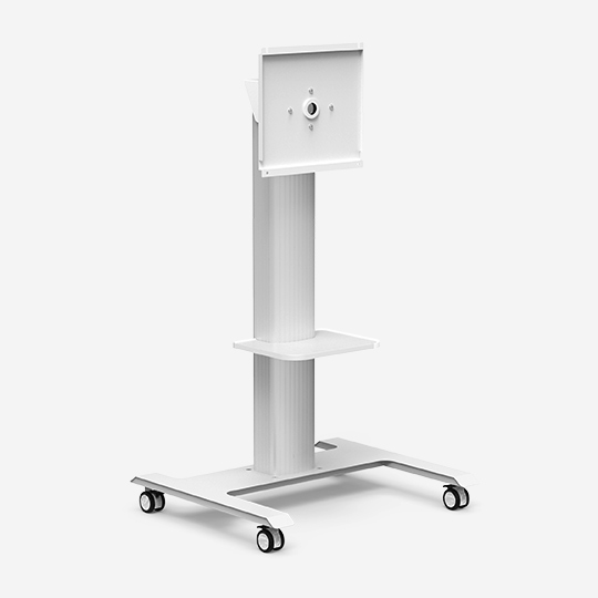 WH3365 Portable Floor TV Cart with Mount Swivel